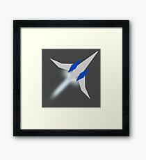 Star Fox -- Arwing Framed Print