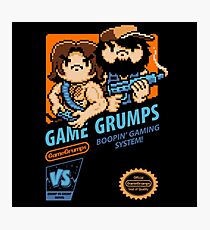 Game Grumps NES Cover Photographic Print