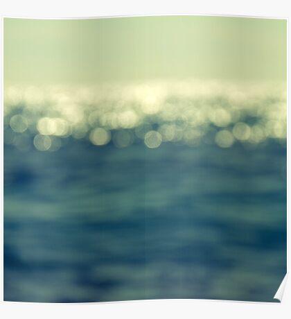 blurred light Poster