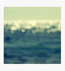 blurred light Photographic Print