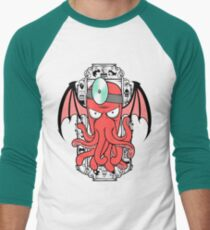 The Call Of Zoidthulhu Men's Baseball ¾ T-Shirt