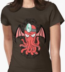 The Call Of Zoidthulhu Womens Fitted T-Shirt
