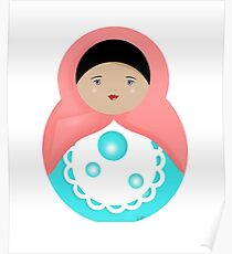 Sweet Bubble Babushka Poster