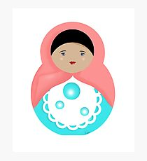 Sweet Bubble Babushka Photographic Print