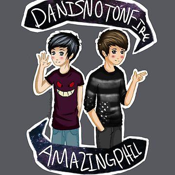 Danisnotonfire & Amazingphil  by AutumnRay