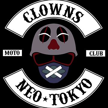 The Clown Motorcycle Club - Neo Tokyo (Akira) by CloakAndDaggers