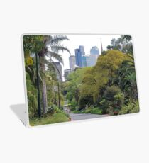 City amongst the trees Laptop Skin