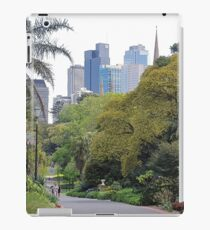 City amongst the trees iPad Case/Skin