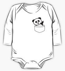 Pocket panda One Piece - Long Sleeve