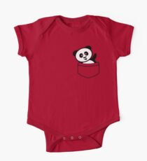 Pocket panda One Piece - Short Sleeve