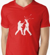 Axe the walkers Men's V-Neck T-Shirt