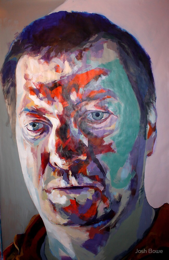 Self Portrait 15 - or - You know that pie crust that you've just eaten. That was the shell from your tortoise by Josh Bowe