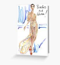 Peaches & Gleam! Greeting Card