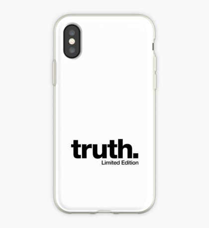 truth. {Limited Edition} iPhone Case