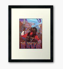 TF2 RED Demoman Framed Print