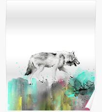 Wild No.3 // Wolf Poster