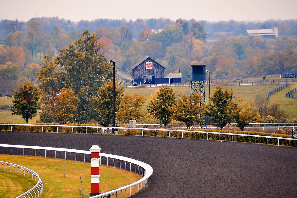 "Race Track Wall Art >> ""Keeneland Race Track, Lexington, Kentucky"" by Shutter and Smile Photography 