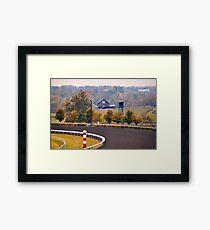 Keeneland Race Track, Lexington, Kentucky Framed Print