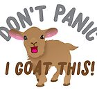 Don't PANIC! I goat this! by jazzydevil