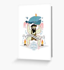 strongest man on earth  Greeting Card