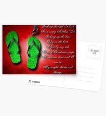 Aussie Christmas card Postcards