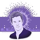 Benedict Cumberbatch - Sexy purple by Clarice82