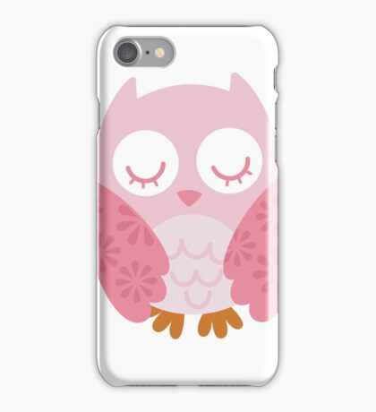 Pink Owl - iphone Case iPhone Case/Skin