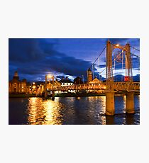 Inverness at Night Photographic Print