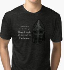 Then I Took an Arrow in the Knee Tri-blend T-Shirt