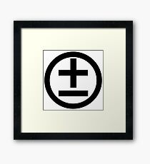 2015 Shirt (Black Logo) Framed Print