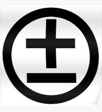 2015 Shirt (Black Logo) Poster
