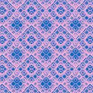 Graphic Shell Pattern Purple by Pepe Psyche