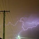 Perth Lightning 2011 by Daniel Fitzgerald