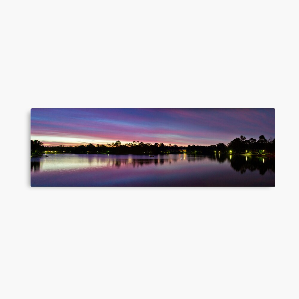 Natures Light Show Canvas Print