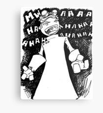 Doctor Horrible - Transparent Evil Laugh Metal Print