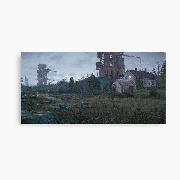 Renoveringsobjekt Vid Gränsen till Rostriket Canvas Print