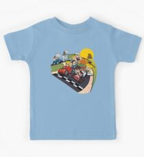 Super Fighting Kart Kids Tee