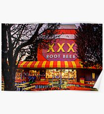 The XXX Root Beer Barrel Poster