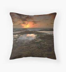 """The Dance of Eternity"" ∞ Little Bay, NSW - Australia Throw Pillow"