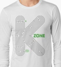 aMAZEing (Black+Green) Long Sleeve T-Shirt