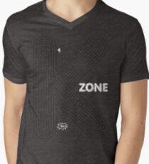 aMAZEing (Black+White) Mens V-Neck T-Shirt