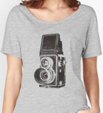 Vintage Beautyflex TLR camera Women's Relaxed Fit T-Shirt