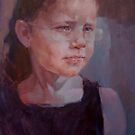 Lucy,aged 7 by Kathylowe