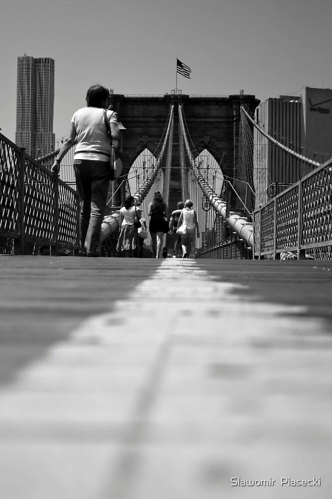 Brooklyn Bridge by Slawomir  Piasecki
