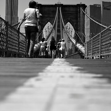 Brooklyn Bridge by piasek