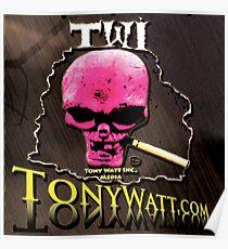 TWI Studio Logo -Hollyweird, Toronto, Canada Poster