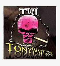 TWI Studio Logo -Hollyweird, Toronto, Canada Photographic Print