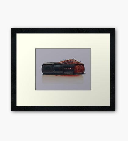 Things From The Flood - Stereo Framed Print