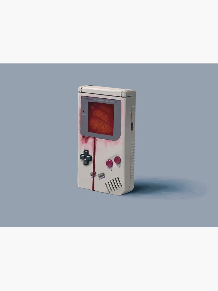 Things From The Flood - Gameboy by simonstalenhag