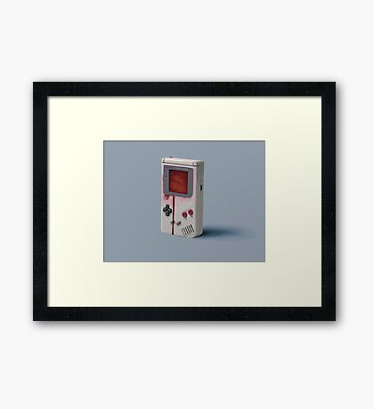 Things From The Flood - Gameboy Framed Print